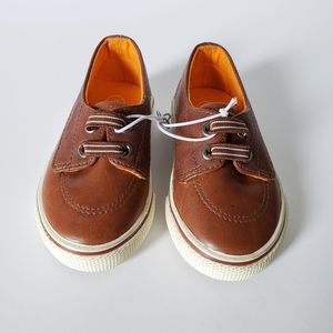 ⭐3/$20 Brown Kaiser Boat Shoes Baby Shoes